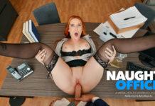 NaughtyAmericaVR Madison Morgan Fuck In The Office VRPorn