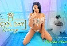 VRAllure Pool Day Vacay - Serena Santos VRPorn