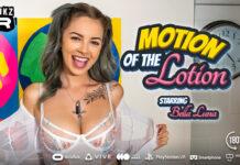 WankzVR - Motion Of The Lotion - Bella Luna VR Porn